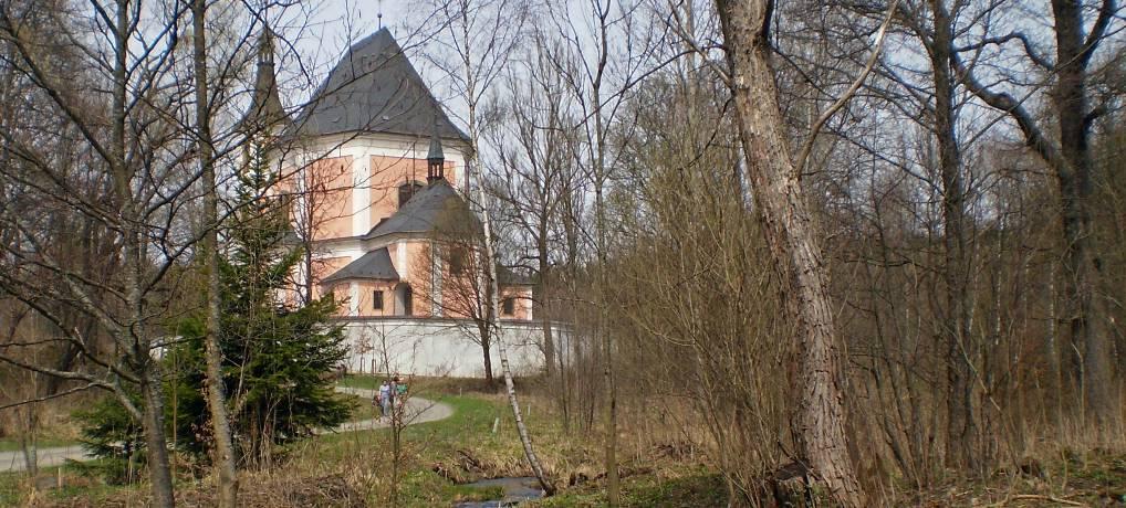 Kostel ve Staré Vodě